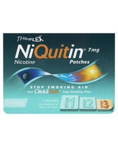 NiQuitin CQ 24 Hour Original Patch - Step 3 7mg x 7