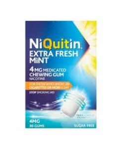 NiQuitin Extra Fresh Mint Gum 4mg 30