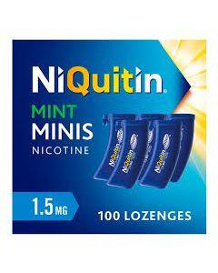 Niquitin Minis Lozenges, Mint 1.5mg 100