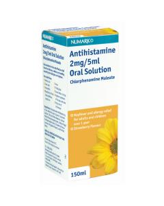 Numark Anti-histamine Syrup 150ml