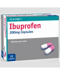 Numark Ibuprofen 200mg Capsules 32