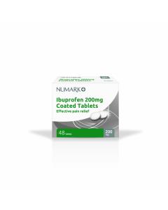 Numark Ibuprofen Tablets 200mg 48