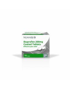 Numark Ibuprofen Tablets 200mg 96