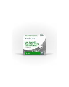 Numark Ibuprofen Tablets 400mg 96