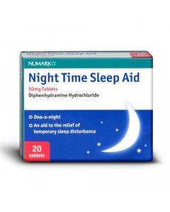 Numark Night Time Sleep Aid 50mg 20 Tablets