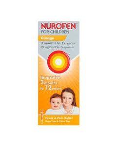 Nurofen For Children Orange Syrup 200ml