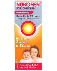 Nurofen For Children Strawberry Syrup 100ml