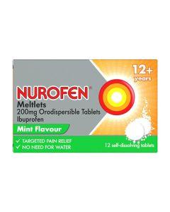 Nurofen Meltlets Mint 12