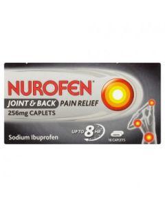 Nurofen Joint & Back Pain Relief Caplets 256mg 16