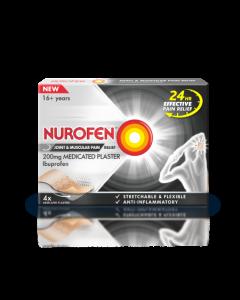 Nurofen Medicated Plaster 200mg 4 Pack