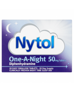 Nytol One-a-Night 50mg  Tablets 20