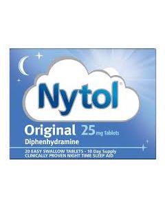 Nytol Original Tablets 25mg 20