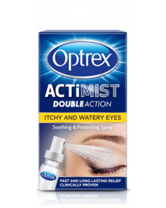 Optrex ActiMist 2in1 Itchy & Watery Eyes Spray 10ml