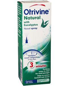 Otrivine Natural Eucalyptus Nasal Spray 20ml