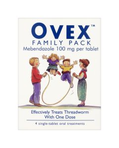 Ovex Tablets 4 -Family Pack