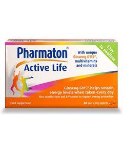 Pharmaton Active Life Caplets 30