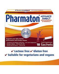 Pharmaton Advance Direct 18 Sachets
