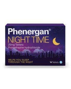 Phenergan Night Time Tablets 25mg x 14