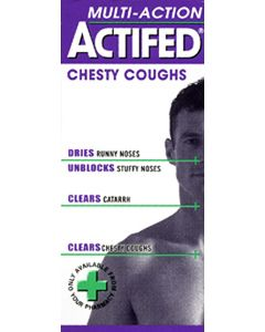 Actifed Multi Action Chesty 100ml