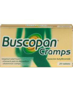 Buscopan Cramps Tablets 20 Cramps Tablets
