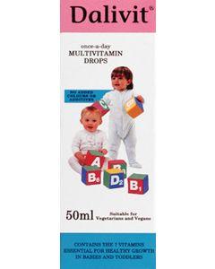 Dalivit Multivitamin Drops 50ml