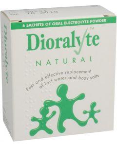 Dioralyte Supplement Sachets Natural 6 Natural