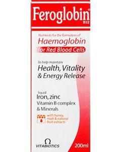 Feroglobin B12 Vitamin/mineral Complex 200ml