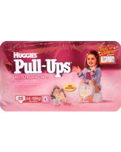 Huggies Pull Ups Girl Medium 14 Girl