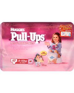 Huggies Pull Ups Girl Small 16 Girl
