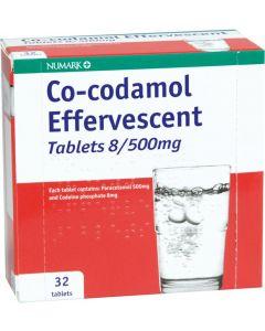 Numark Co-codamol Effervescent Tablets 32
