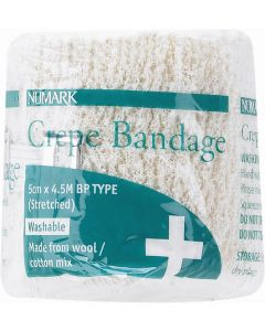 Numark Crepe Bandages Bpc 5cm