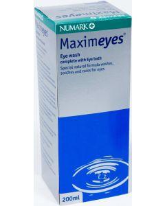 Numark Maximeyes Eyewash With Eyebath 200ml