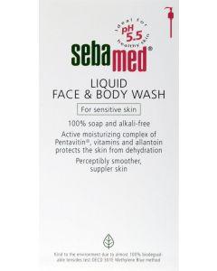 Seba Med Face & Body Wash 1ltr