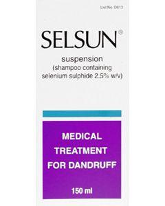 Selsun Shampoo Dandruff Treatment 150ml