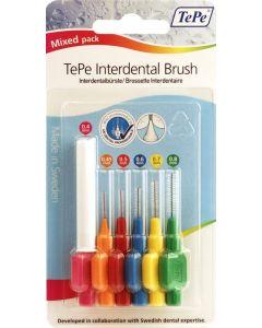 Tepe Interdental Brushes Mixed  Mixed 6 Mixed