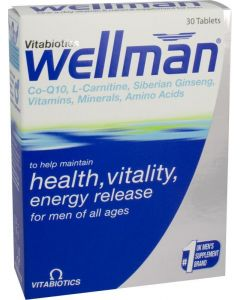 Wellman Tablets 30 Tablets