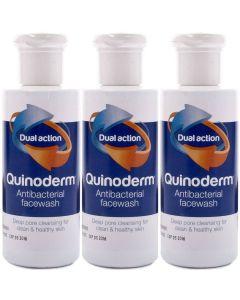 Quinoderm Facewash 3 x 150ml