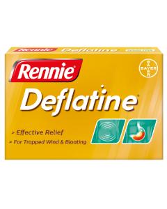 Rennie Deflatine Tablets 18
