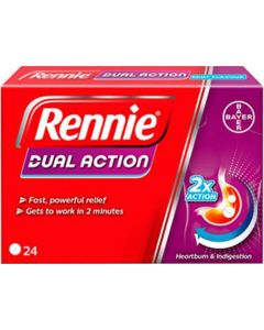 Rennie Dual Action Tablets 24