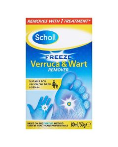 Scholl Freeze Verruca and Wart Treatment Spray 80ml