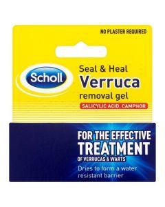 Scholl Seal & Heal Verruca Removal Gel 10ml