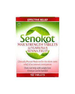 Senokot Max Strength Tablets 48