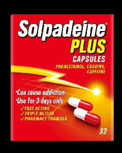Solpadeine Plus Capsules 32
