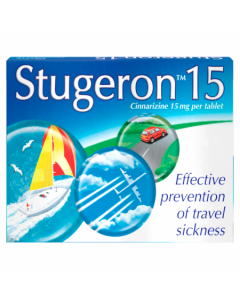 Stugeron Tablets Travel Pack 15