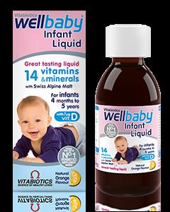 Vitabiotics Wellbaby Syrup 150ml