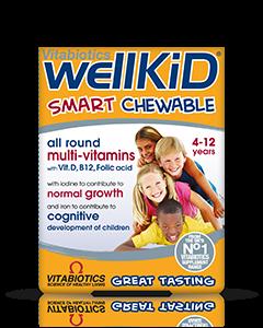 Vitabiotics Wellkid Chewable Tablets 30